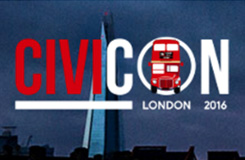 CiviCON London 2016 Logo